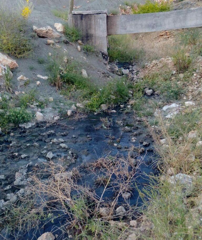 Açıktan Akan Kanalizasyon Tehlike Saçıyor