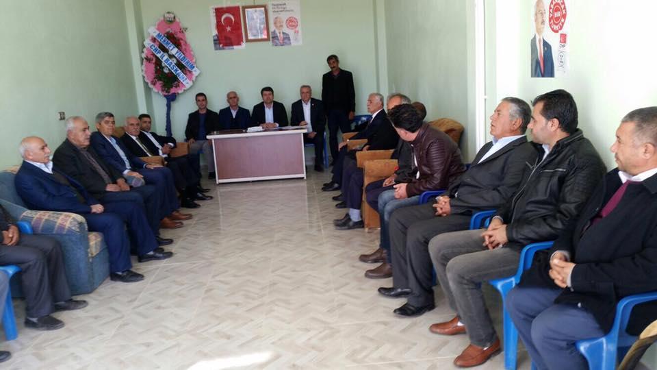 CHP Sincik İlçe Başkanı Şahin, Yeniden Seçildi