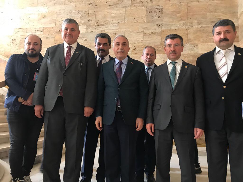 Oda Başkanları Fakıbaba'yla Görüştü