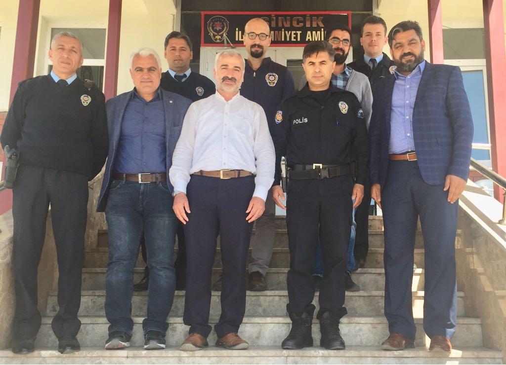 İşadamlarından Polislere Ziyareti