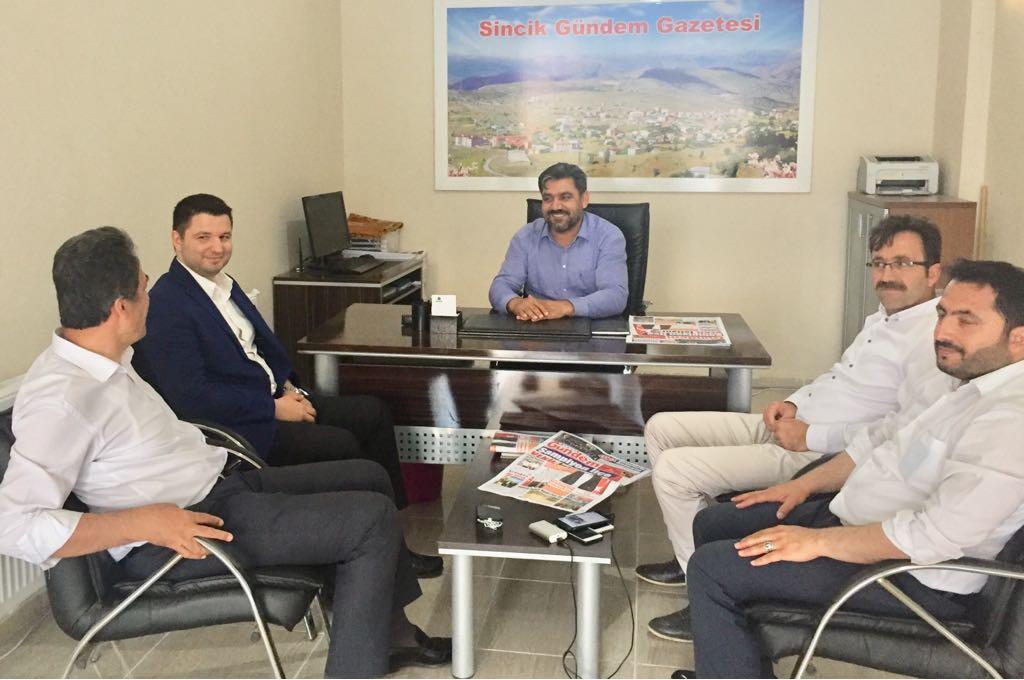 Muhammet Fatih Toprak'tan, Gazetemize Ziyaret