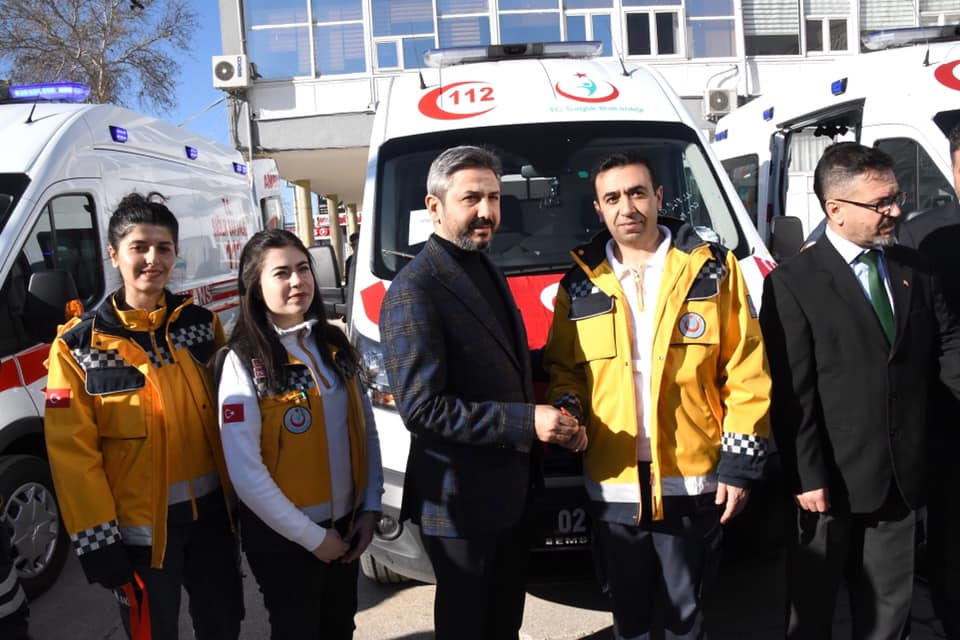 Sincik'e Yeni Ambulans