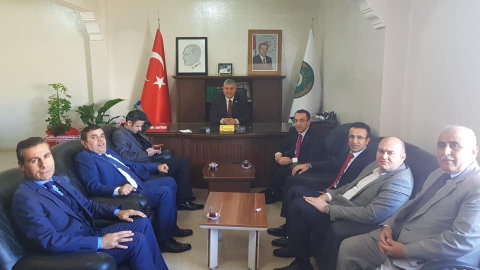 Vali Yardımcılarından Başkan Turanlı'ya Tebrik Ziyareti
