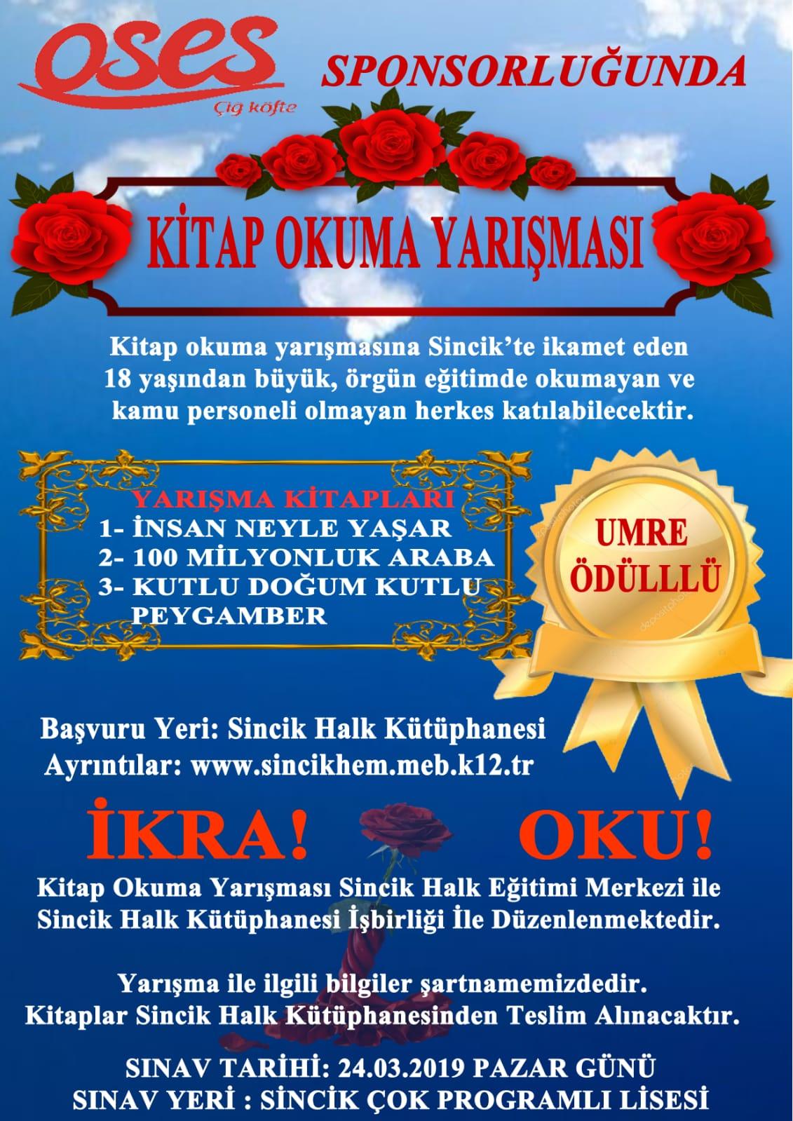 Umre Ödüllü Kitap Okuma Yarışması