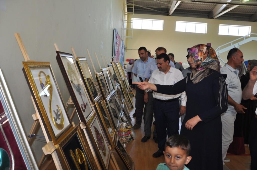 Halk Eğitim Merkezinden Yılsonu Sergisi