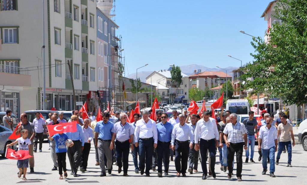 Hain Saldırının Yaşandığı Sincik'te Teröre Lanet Yürüyüşü