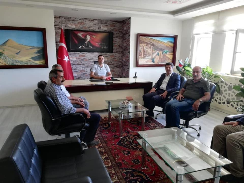 Milletvekili Tutdere Sincik ilçesini ziyaret etti