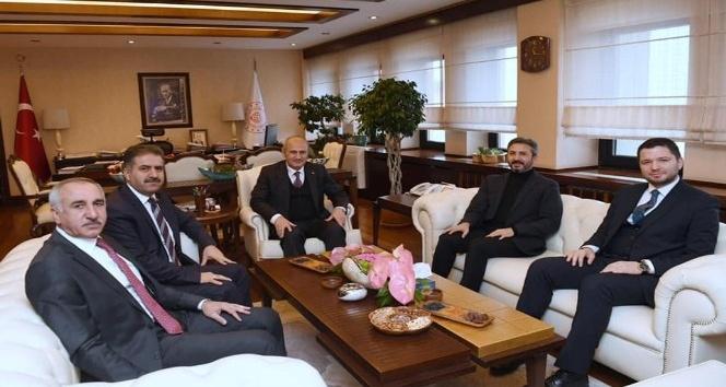 Adıyaman Milletvekilleri Bakan Turhan ile görüştü