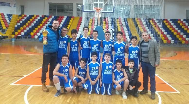 Sincikli Öğrencilerin Basketbol Başarısı