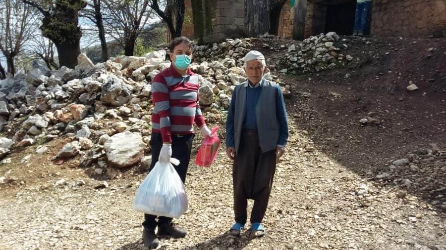 Yaşlıların ihtiyaçları tek tek karşılanıyor