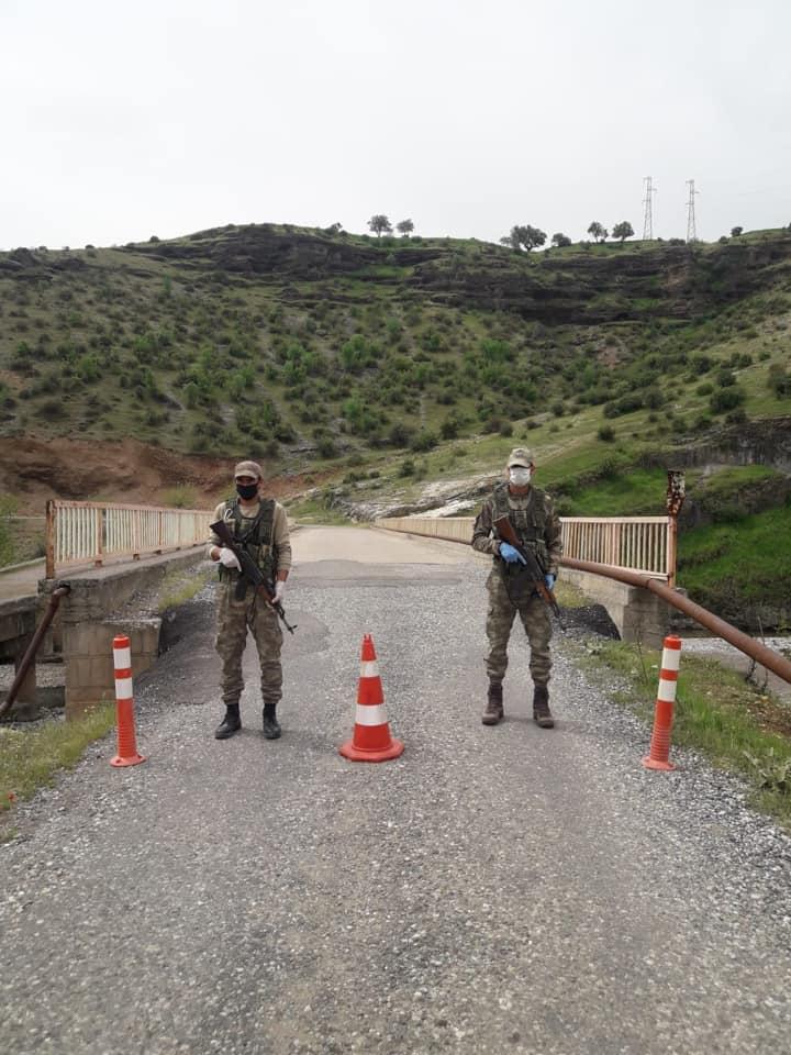 Çamdere Köyü Karantinaya Alındı