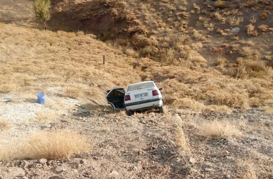 Sincik Malatya Yolunda Kaza: 1 Yaralı
