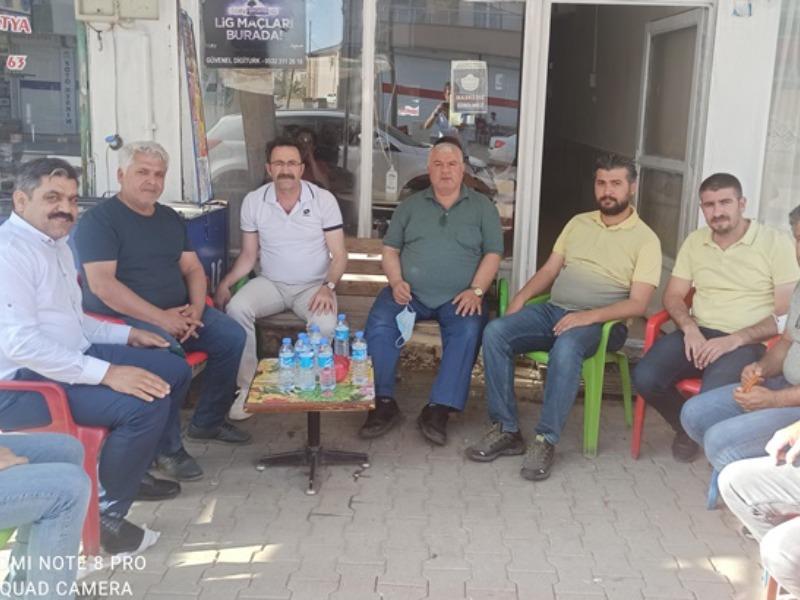 GAP Gazeteciler Birliğinden Sincik'e Ziyaret