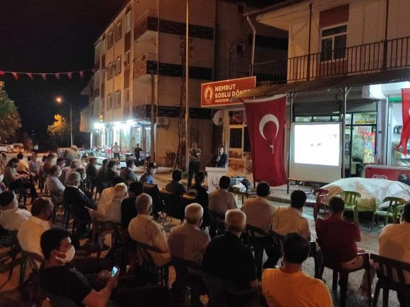 """Sincik'te """"15 Temmuz Demokrasi ve Milli Birlik Günü"""" programı düzenlendi"""