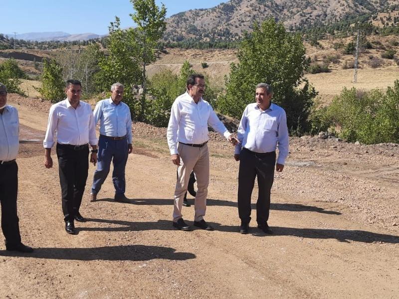 Meclis Başkanı Erdoğan, Sincik'te yapılan hizmetleri yerinde inceledi